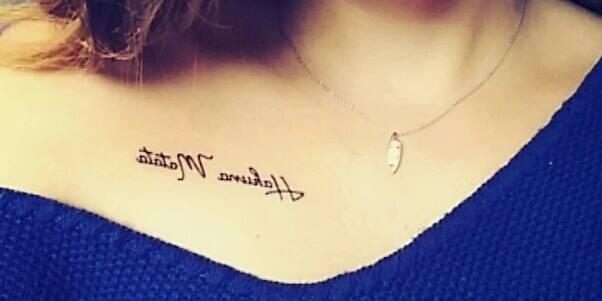 Photo tatouage hakuna matata - Tatouage hakuna matata ...