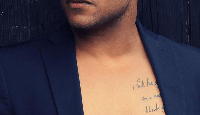 Phrase De Tatouage Pour La Poitrine Ou Le Torse