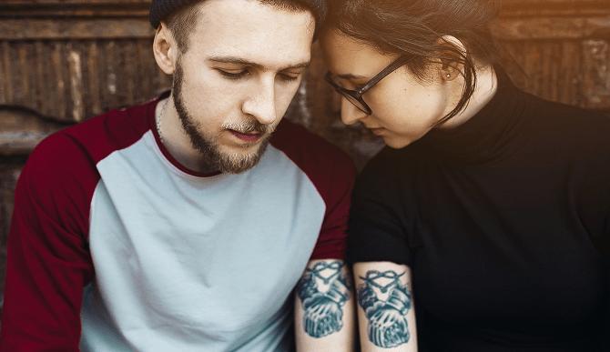 Phrases de tatouage pour un couple - Tatouage en couple ...